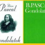Blaise Pascal: Gondolatok (Könyvajánló)