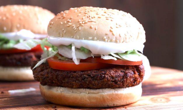Hamburger, ami egészséges és finom